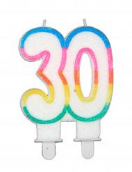 Synttärikynttilä 30