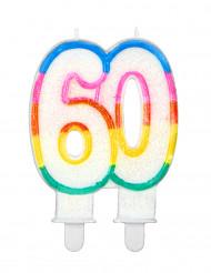 Kakkukynttilä 60-vuotisjuhliin
