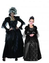 Goottikreivittären naamiaisasut äidille ja lapselle halloween