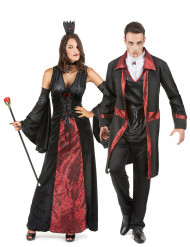 Mustapunaiset vampyyrit- pariasu halloween