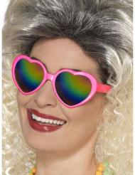 Naisten moniväriset sydänsilmälasit