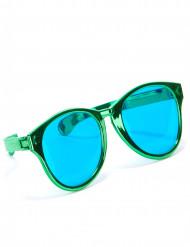 Aikuisten jättikokoiset vihreät aurinkolasit