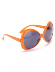 Diskotyyliset oranssit aurinkolasit aikuisille