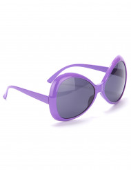 Aikuisten silmälasit Violetti disco