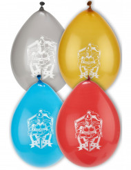 8 ilmapalloa ritarikuviolla