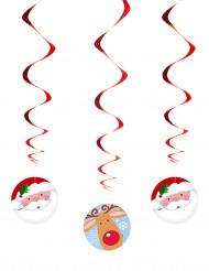 Roikkuvat joulukoristeet, 3 kpl