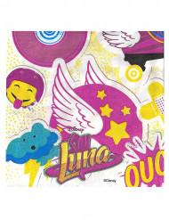 Paperilautasliinat Soy Luna™ 33 x 33 cm - 20 kpl