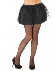 Naisten musta tutuhame - sis. läpikuultamattoman alushameen