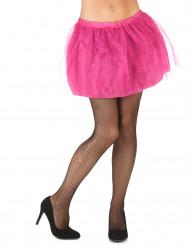 Naisten vaaleanpunainen tutuhame - sis. läpikuultamattoman alushameen