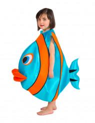 Sini-oranssin kalan naamiaisasu lapselle
