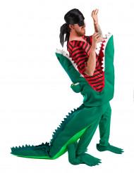 Merirosvo krokotiilin kurkussa