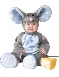 Harmaan hiiren naamiaisasu vauvalle - luksus