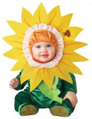 Auringonkukka-asu vauvalle