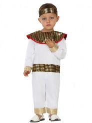 Valkoinen egyptiläisasu vauvoille