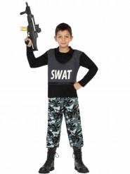 Poliisin erikoisjoukkojen asu lapsille