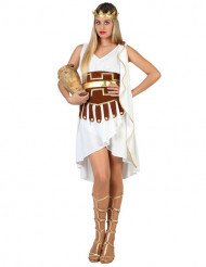 Roomalainen nainen ihanassa mekossa - Naamiaisasu