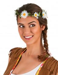 Aikuisten seppelekruunu tuhatkaunon kukkasilla