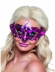 Naisen seksikäs violetti silmikko