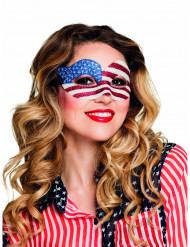 Naisten paljettisilmikko, USA:n lippu