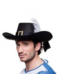 Muskettisoturin hattu aikuiselle