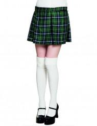 Naisten skotlantilainen vihreä kiltti