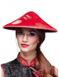 Punainen kiinalainen hattu