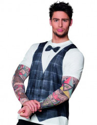 Tatuoidun hipsterimiehen paita