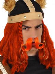Oranssit viikinkiviikset aikuisille