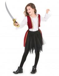 Lasten punamusta merirosvoasu