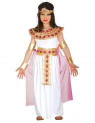 Vaaleanpuna-kultainen egyptiläinen asu