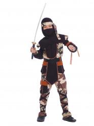 Ninjan maastoasu lapsille