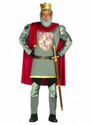 Keskiaikainen kuningas -  Naamiaisasu aikuisille