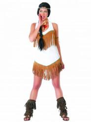 Valkoinen intiaanimekko