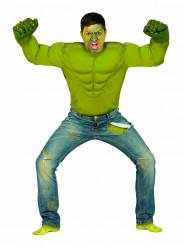 Vihreän hirviön naamiaisasu aikuiselle