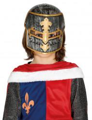 Keskiaikaisen ritarin kypärä lapselle