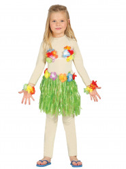 Vihreä havaijilaisasu lapsille