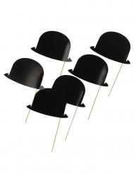 Photobooth-asusteet 6kpl, hatut