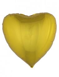Kullanvärinen sydänilmapallo 76 cm