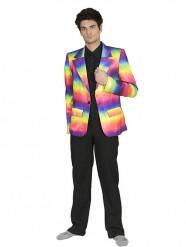 Värikäs puvuntakki miehelle