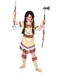 Vaalea intiaanimekko lapsille
