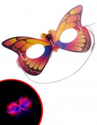 Pimeässä hohtava perhosnaamio