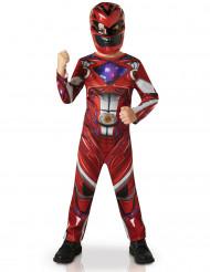 Power Rangers™ punainen klassinen naamiaisasu lapselle