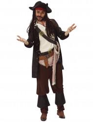 Kapteeni Jack Sparrown™ naamiaisasu aikuiselle