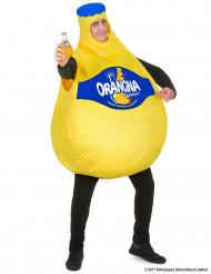 Orangina™-pullo aikuisten naamiaisasu