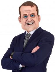 Humoristinen Emmanuel Macron-naamari aikuisille