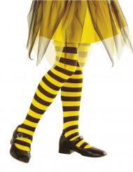 Keltamustaraidalliset sukkahousut lapsille