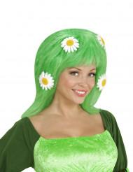 Vihreä peruukki päivänkakkaroille