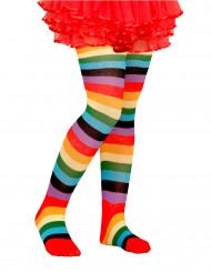 Monenkirjavat sukkahousut lapsille