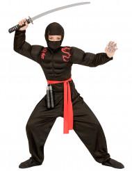 Lihaksikkaan ninjan naamiaisasu pojalle