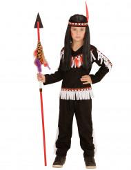 Tumma intiaaniasu lapsille